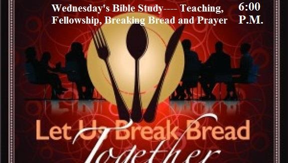 Fellowship Meal